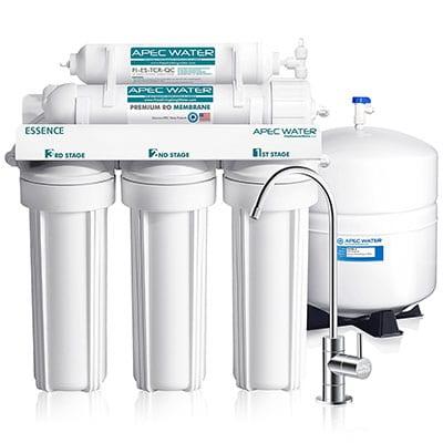 7 Best Under Sink Water Filters APEC Top-Tier Ultra Reverse Osmosis Under Sink Water Filter