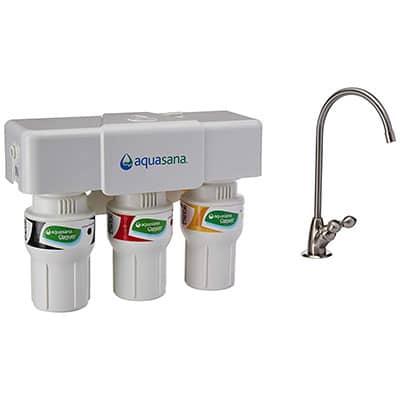 7 Best Under Sink Water Filters Aquasana 3-Stage Under Sink Water Filtration System