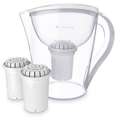 Best Water Filter Pitchers Invigorated Living Water Filter Pitcher
