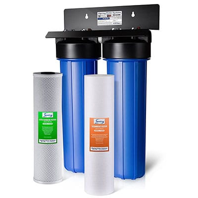 Best Home Water Filtration System iSpring Dual-Stage Filtration System