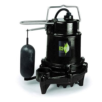 Best Sump Pumps ECO-FLO Products EFSA33 Sump Pump