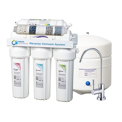 "Four Alkaline Mineral Water Filter With 1//4/"" Quick Connectors"