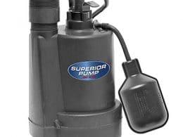 Best Sump Pumps Superior Pump 92250 Sump Pump