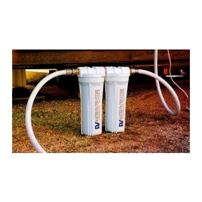 Essential RV Water Filter System with Hose Fittings