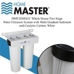 Home Master Dual Whole House Water Filtration System