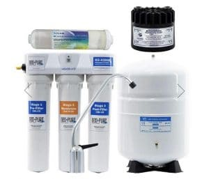 nitrate removal method by reverse osmosis