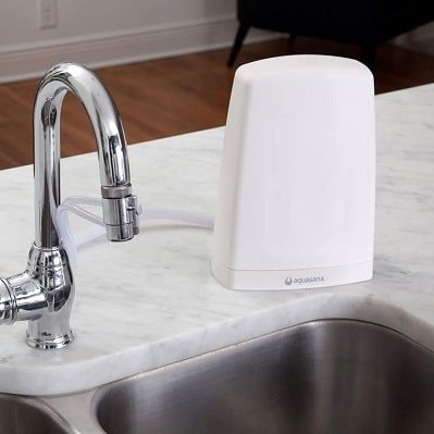 countertop water filter used in home AQ-4000