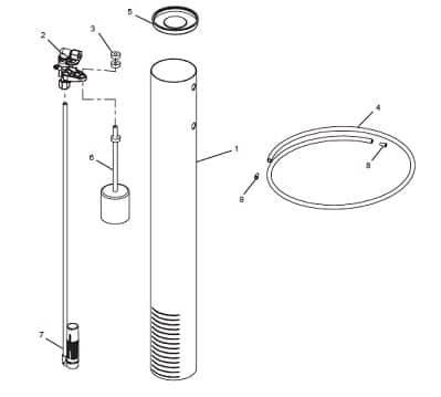 Brine Well Assembly For OM32KCS diagram