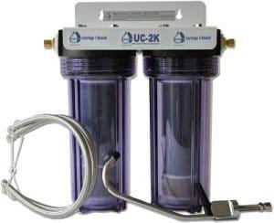 CuZn Undersink water Filter