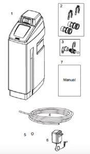 details of OM32KCS OMNIFilter Water Softener pack