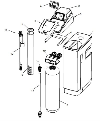 Tank Assembly For OM32KCS diagram
