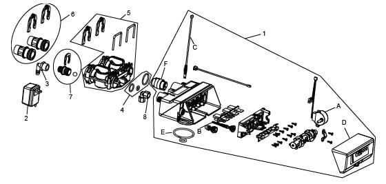 Valve Assembly For OM26K-S diagram