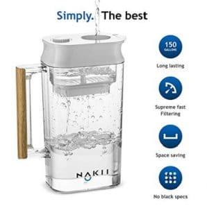 Nakii Water Filter Pitcher specs