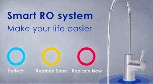 Smart RO system of waterdrop water filter