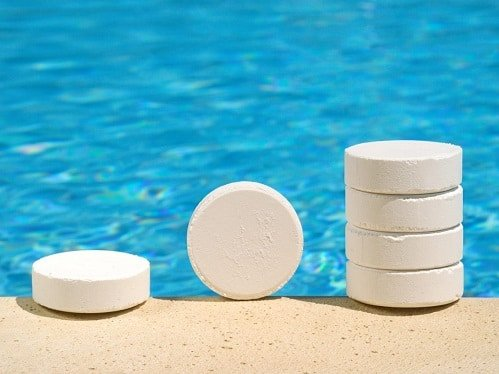 Reason Chlorine is added to Pools
