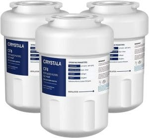 Crystala MWF water filters for GE refrigerators