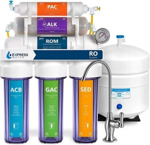 Express Water Reverse Osmosis Alkaline Water Filtration System – 10 Stage