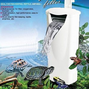 JackSuper Low Level Water Filtration Turtle