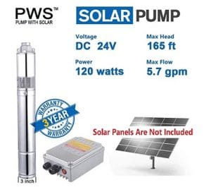 PWS Stainless 316 Deep Well Pump
