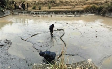 alluminum pollution in water