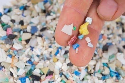 Microplastics pollutants