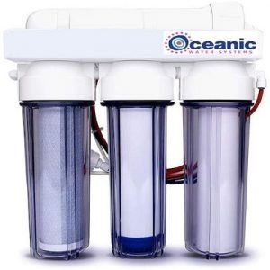 4 Stage - Hydroponic Reverse Osmosis Water Filtration System
