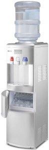 COSTWAY 2-in-1 Water Cooler Dispenser With Built-in Ice Maker