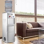 COSTWAY 2-in-1 Water Cooler Dispenser used in home