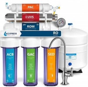 Express Water Ultraviolet 6 stage Reverse Osmosis System
