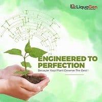 LiquaGen 4 designed for plants