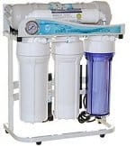 iSpring RCS5T 500 GPD water filtration sysytem in usage