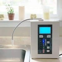 Aqua Ionizer Deluxe 7.0 in kitchen