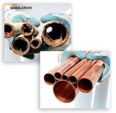 Aquasana eq-ss20 helps clean the pipeline