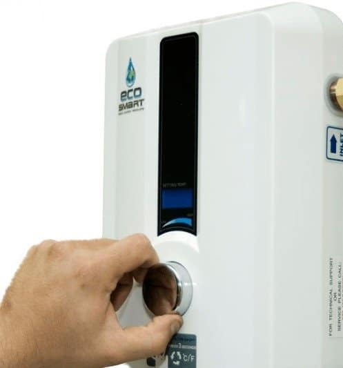 how to reset ecosmart tankless water heater