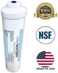 PureWater inline filter certification