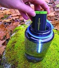 SteriPen Adventurer Opti UV used for hiking