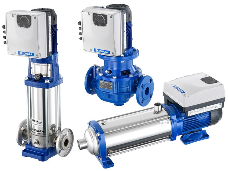 Different Types of Water Pumps