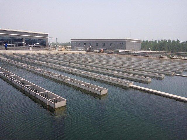 Water Treatment Advection Sedimentation Tank