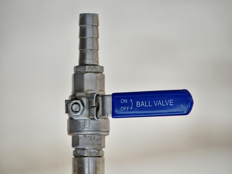 Increase Water Pressure via shut-off valve